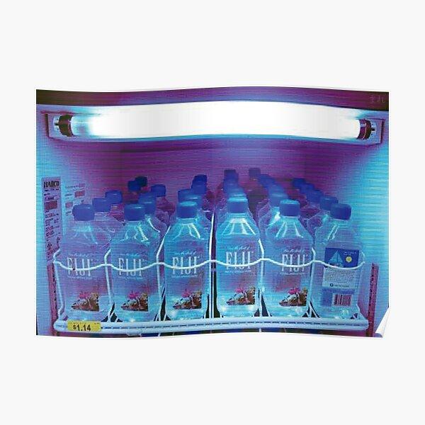 FIJI WATER vending machine (フィジー水の自動販売機) Poster