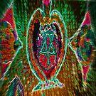 Multicolor Magen David Ampule by hdettman