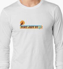 Camiseta de manga larga Port Jefferson - Long Island.
