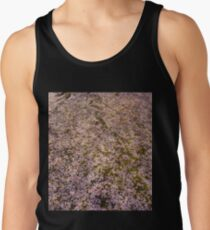Snowing Sakura Petals in Spring Tank Top