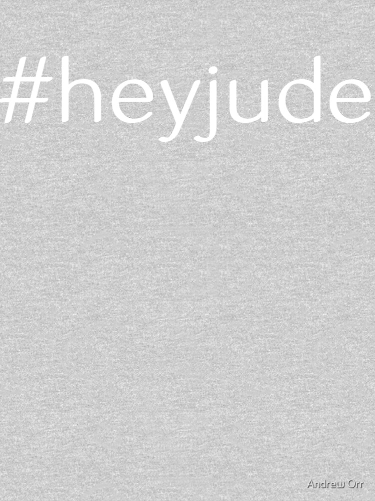 #HeyJude Design for People named Jude by Soulfire86