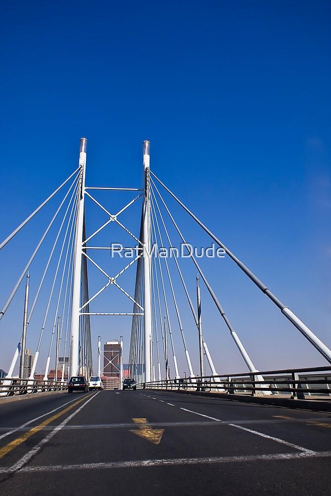 Nelson Mandela Bridge by RatManDude