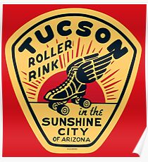 Tucson Roller Rink Poster