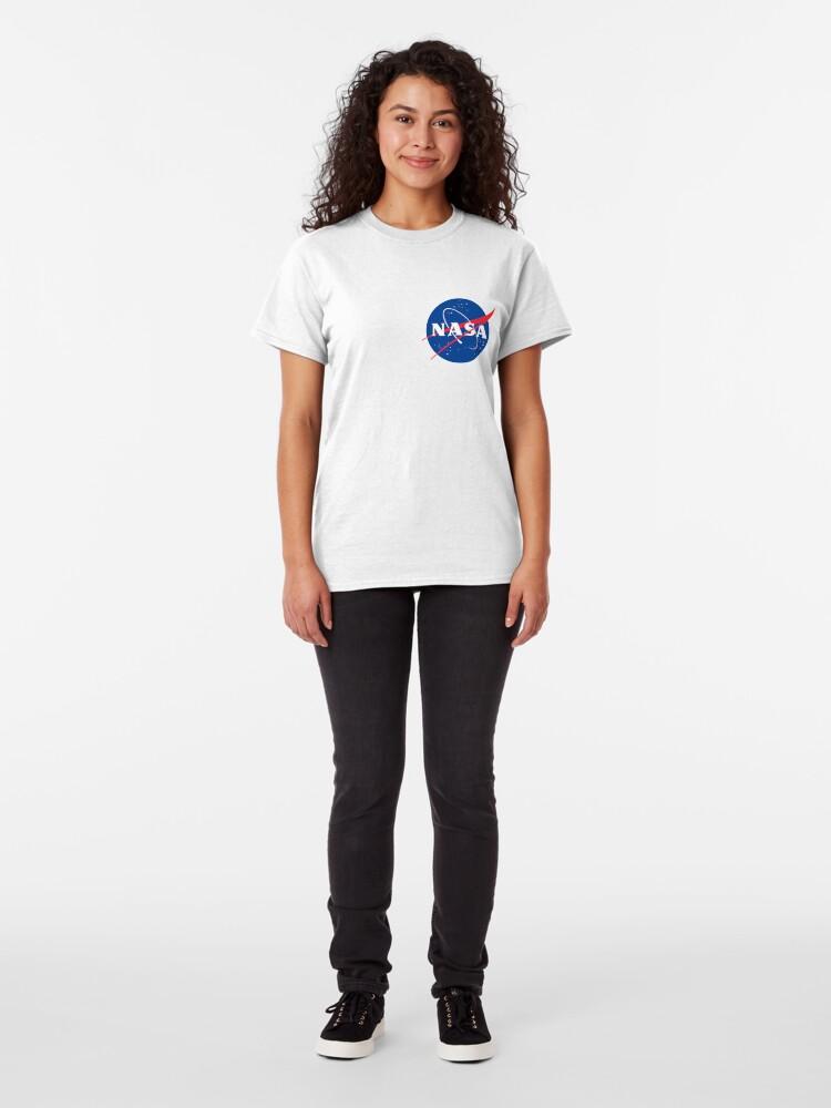 Alternative Ansicht von Offizielle Nasa Classic T-Shirt