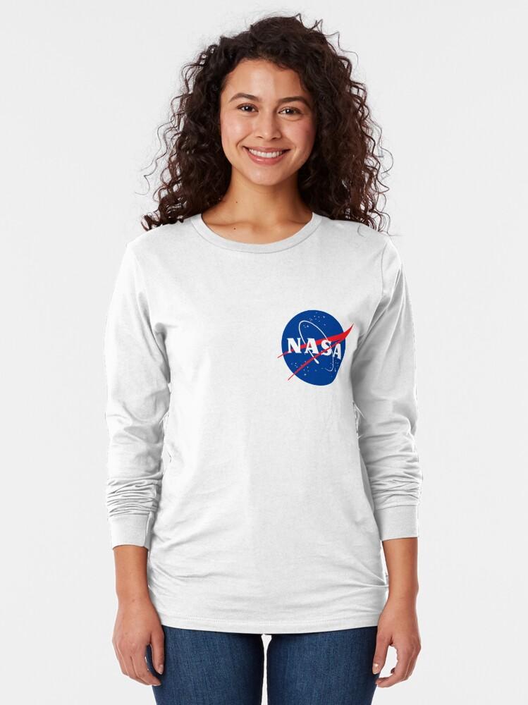 Alternate view of Official Nasa Long Sleeve T-Shirt