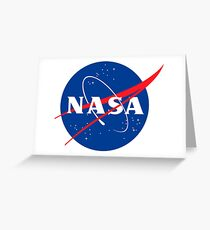 Nasa Greeting Card