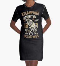 STEAMPUNK Graphic T-Shirt Dress