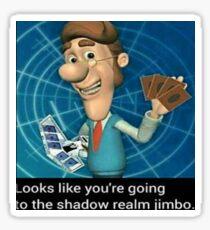 Shadow Realm Jimbo Sticker