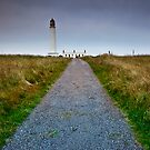 Barns Ness Lighthouse by Stuart Robertson Reynolds
