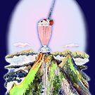 Mountain Flute Strawberry Musical Milkshake by MissMusica