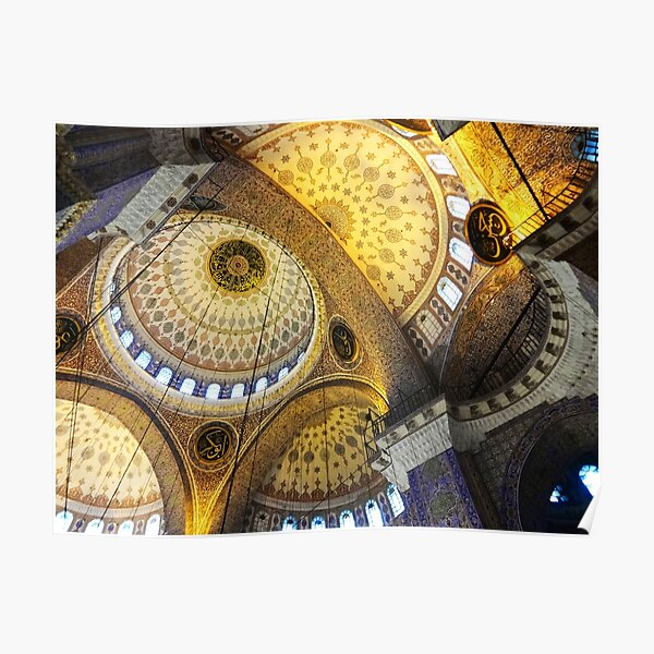 Istanbul Mosque Turkey Islamic Muslim Art Architecture Poster