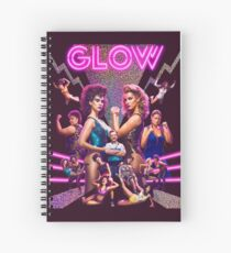 GLOW Gorgeous Lady Of Wrestling Spiral Notebook