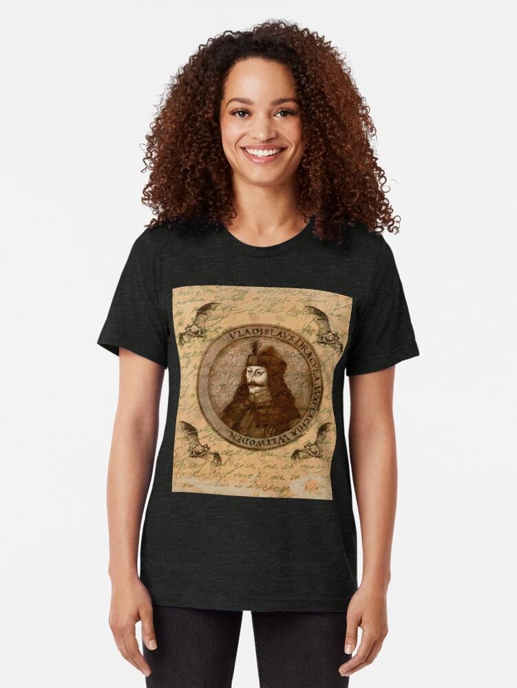Alternative Ansicht von Graf Vlad Dracula Vintage T-Shirt