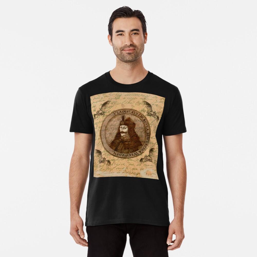 Graf Vlad Dracula Premium T-Shirt