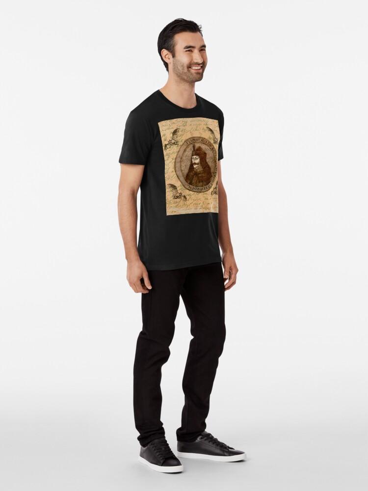 Alternative Ansicht von Graf Vlad Dracula Premium T-Shirt