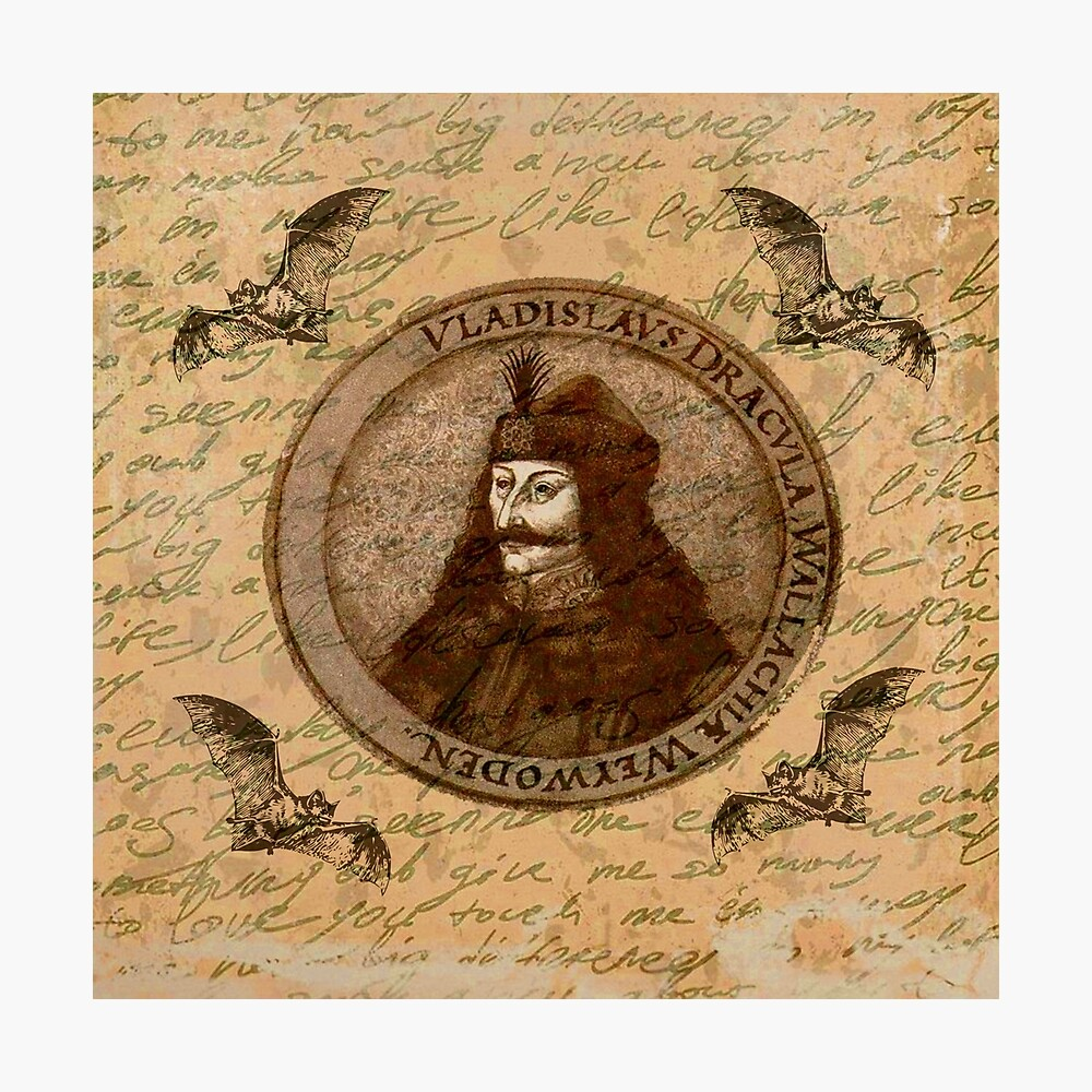 Graf Vlad Dracula Fotodruck