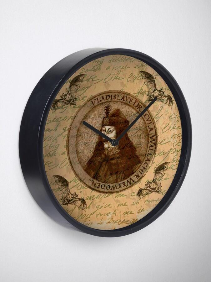 Alternative Ansicht von Graf Vlad Dracula Uhr