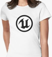 Camiseta entallada para mujer Unreal Engine 4
