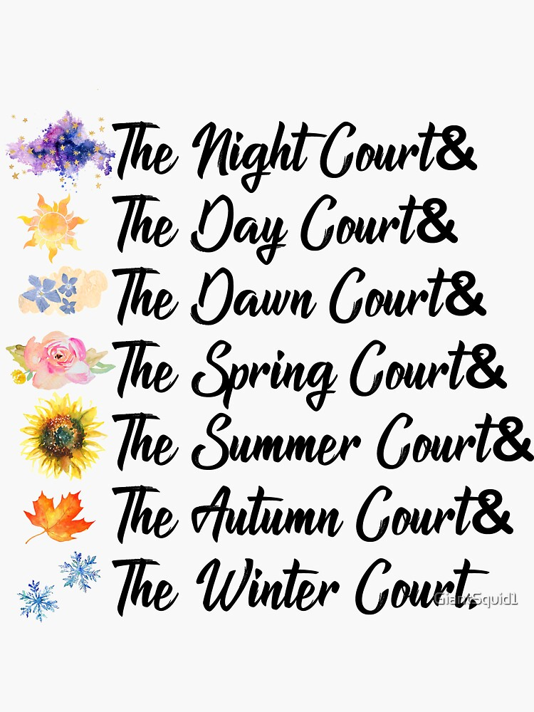 ACOTAR Courts by GiantSquid1