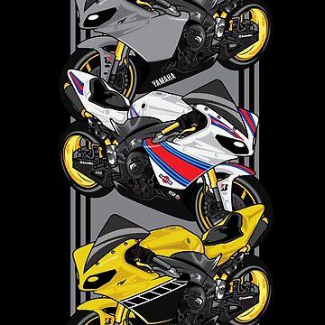 Yamaha R1 by cungtudaeast