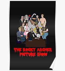 The Rocky Archer Picture Show Poster