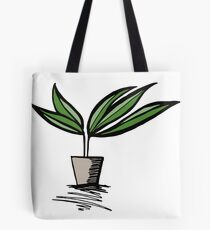 let's grow!  Tote Bag