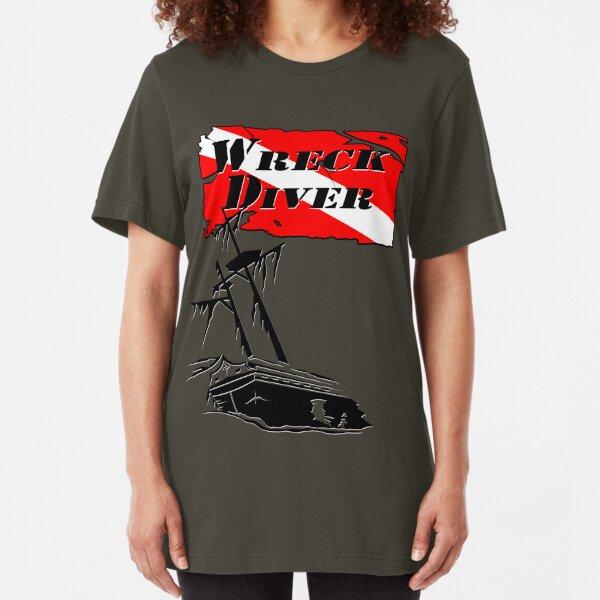 Shipwreck Diver Slim Fit T-Shirt