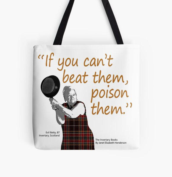 Betty's relationship advice All Over Print Tote Bag