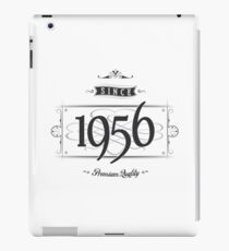 Since 1956 iPad Case/Skin