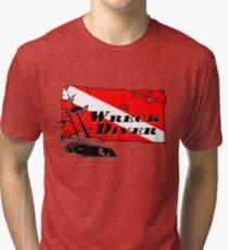 Shipwreck Diver 2 Tri-blend T-Shirt