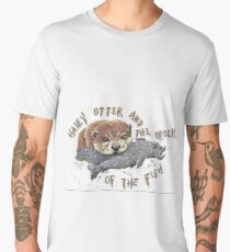 Hairy Otter and The Order of the Fish Men's Premium T-Shirt