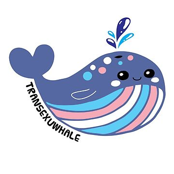 Transexual Flag Transexuwhale Pride by TheRainbowRoo