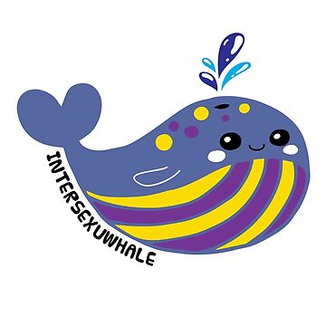 Intersexual Flag Intersexuwhale Pride by TheRainbowRoo