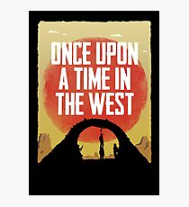 Once Upon a Time in the West - Hanging Photographic Print