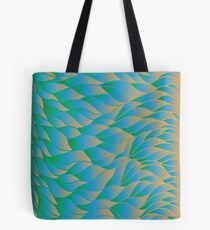 The sun hitting the waves Tote Bag