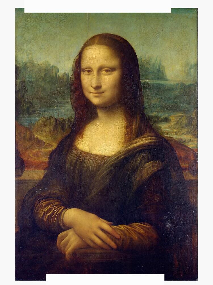 Mona Lisa Off-White  by bigsteve98