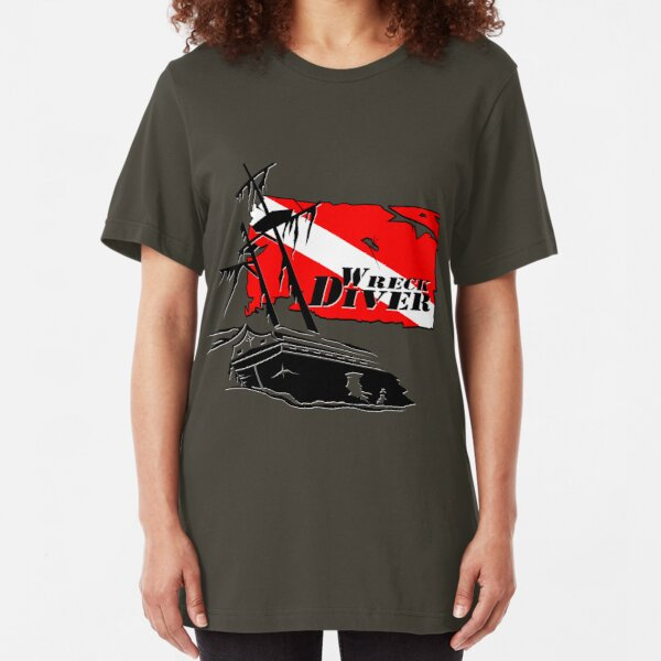 Shipwreck Diver 3 Slim Fit T-Shirt