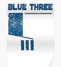 Blue 3 Poster