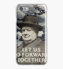 WW2 Poster iPhone Case/Skin