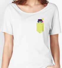 Pocket Jameson Jackson Charity Sticker (AND MORE) Women's Relaxed Fit T-Shirt