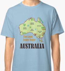 Australia Map Classic T-Shirt
