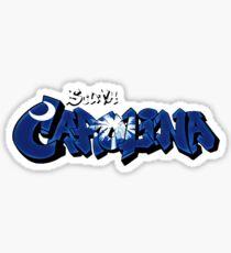 South Carolina Flag Graffiti Edition (Graffiti Muscle) Sticker