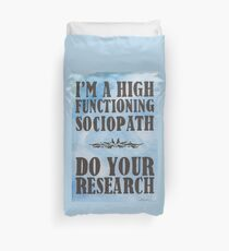 Do Your Research Duvet Cover