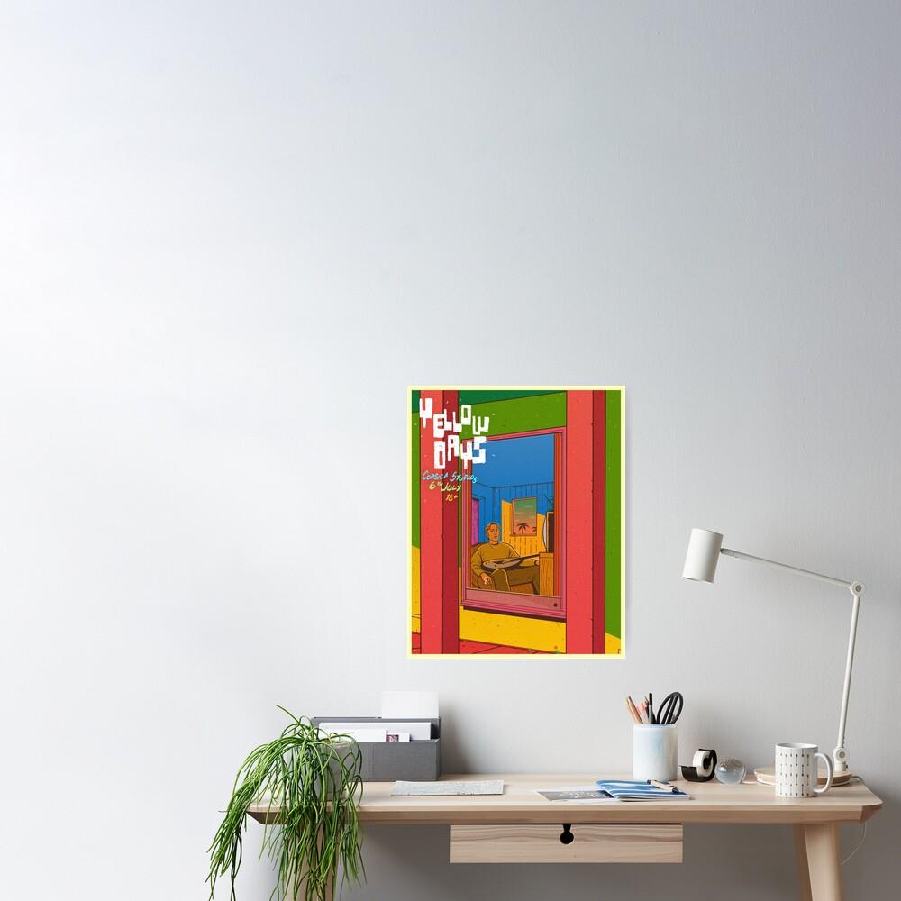 Yellow Days Poster