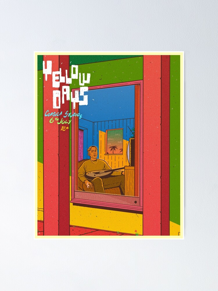 Alternate view of Yellow Days Poster