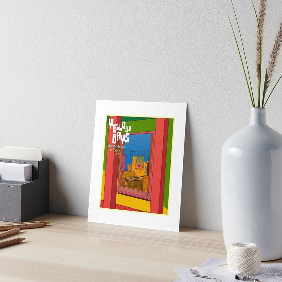 Yellow Days by Indie Merch