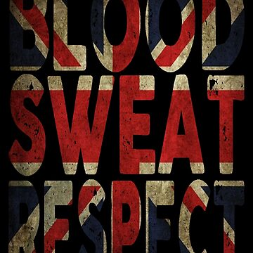 Blood, Sweat, Respect UK by Vitalitee