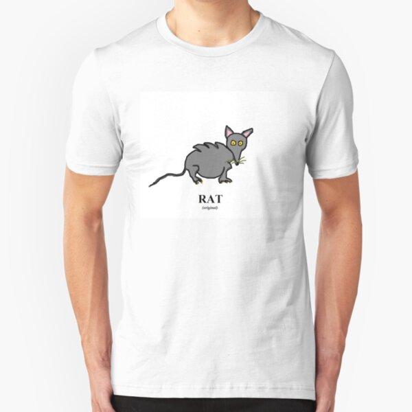 Jenny Quips: Rat! Slim Fit T-Shirt