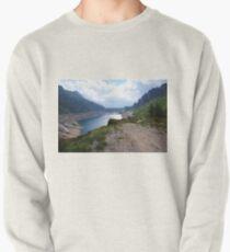 diga lago alpino Pullover