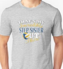 Volleyball Step Sister & Brother Gift Unisex T-Shirt